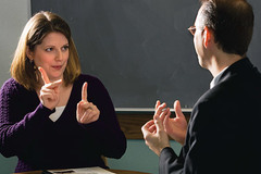 Experiences: Learning Sign Language
