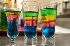 Experiences: Layered Drinks (density)