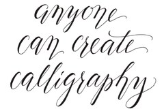 Experiences: Learn to write your name in Calligraphy