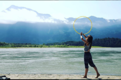 Experiences: Get outside and try hoop dancing!