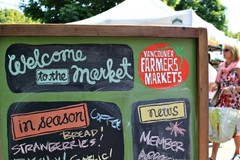 Experiences: Let's go to a Farmer's Market!