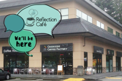 Experiences: Reflection Café in Coquitlam (Creekside Coffee Factory)