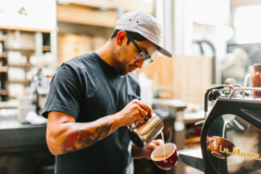 Experiences: Barista behind the scenes!